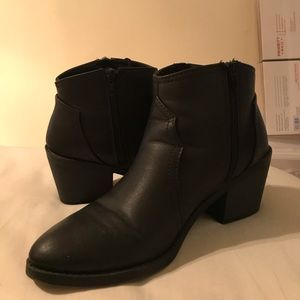 Soda Shoes - Black Ankle Booties